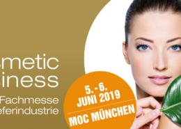 Bild mit dem Termin der Cosmetic Business in München.